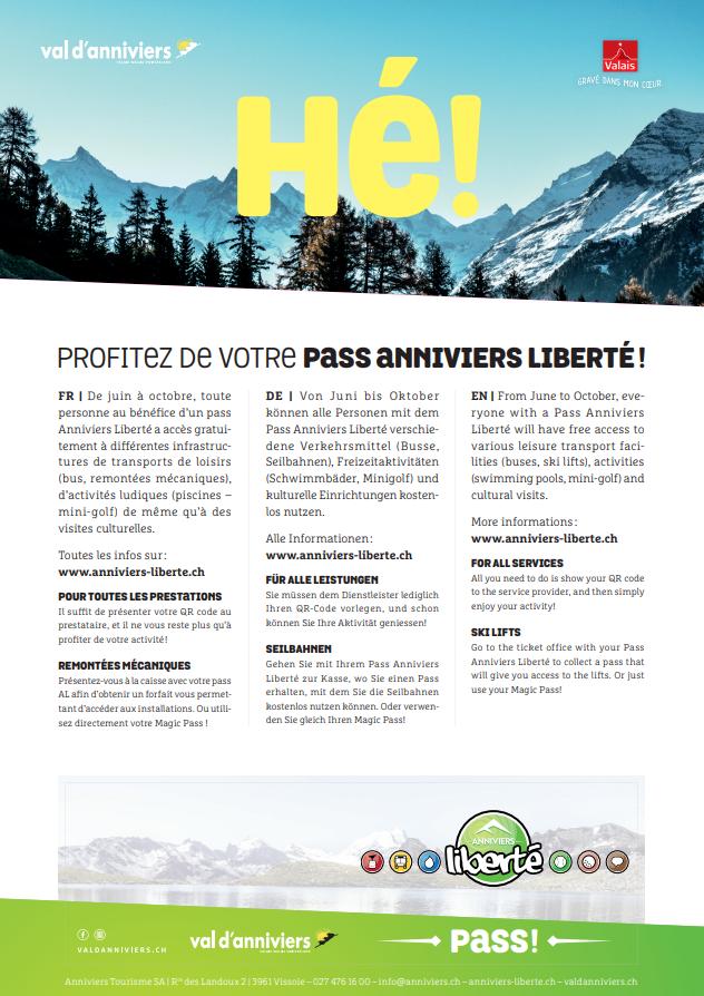Pass Aniviers Liberté !